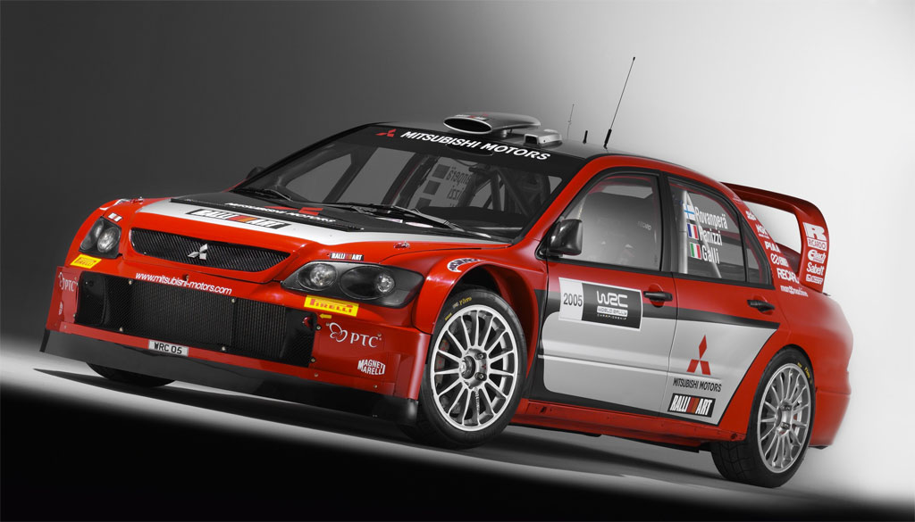 1950s Car Wallpaper 2005 Mitsubishi Lancer Wrc05 Pictures History Value