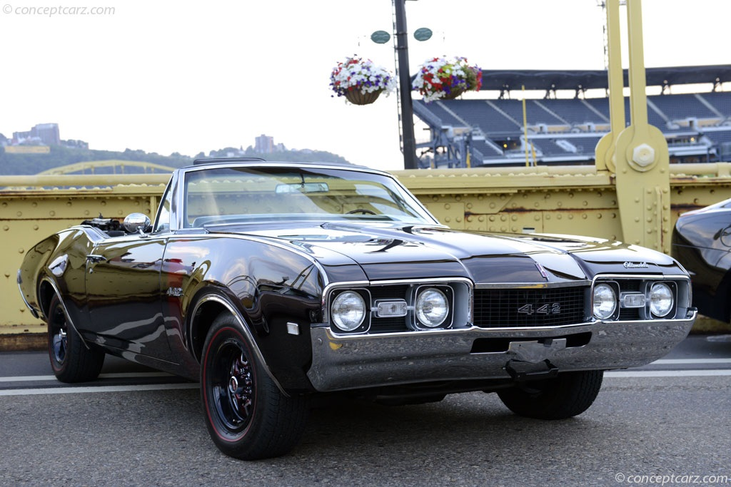 Dodge Muscle Car Wallpaper 1968 Oldsmobile 442 History Pictures Value Auction