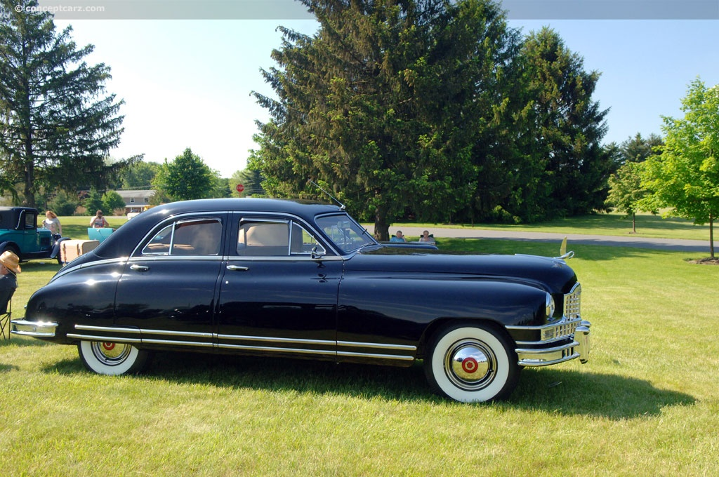 Car Lineup Wallpaper 1949 Packard Custom Eight History Pictures Value