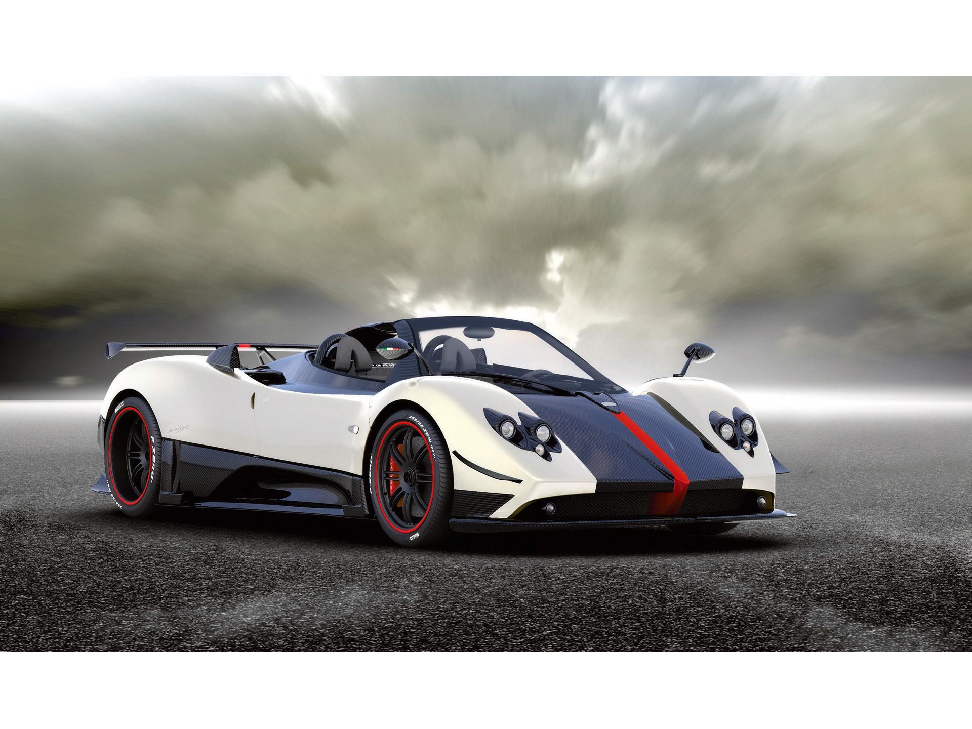 Awesome Race Car Wallpapers 2009 Pagani Zonda Cinque Roadster Conceptcarz Com
