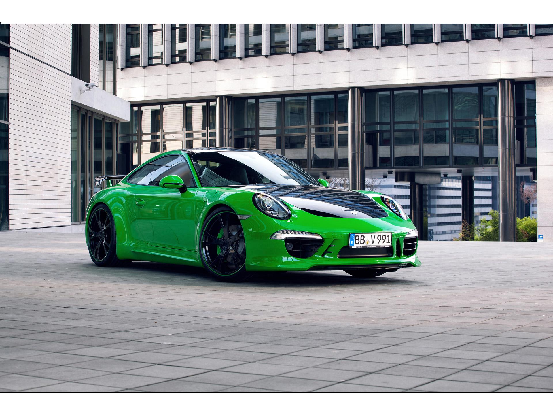 Green Car Modification Wallpaper 2013 Techart 911 Carrera 4s News And Information