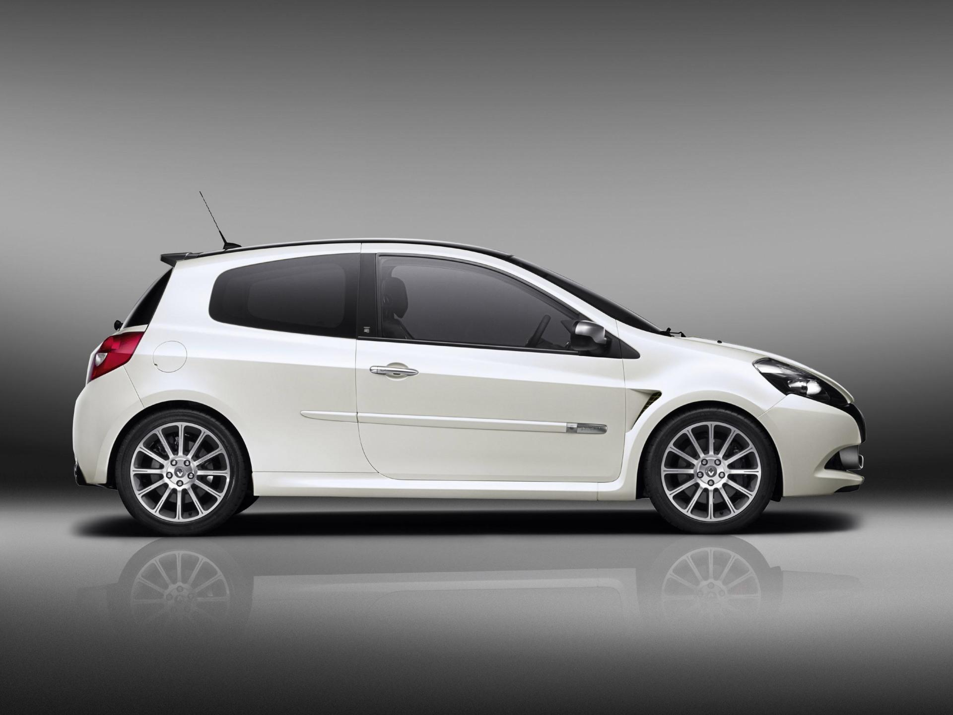 Vintage Muscle Car Wallpaper 2010 Renault Clio 20th Anniversary Edition Conceptcarz Com