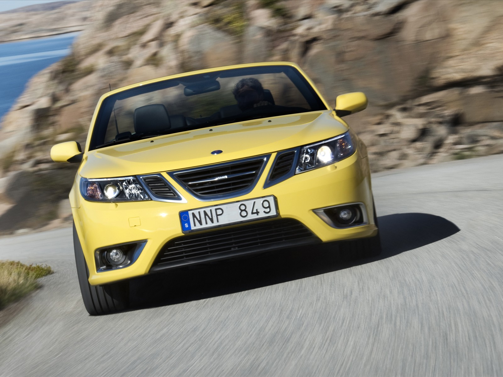 Tuning Cars Wallpapers Hd 2008 Saab 9 3 Convertible Yellow Edition News And Information