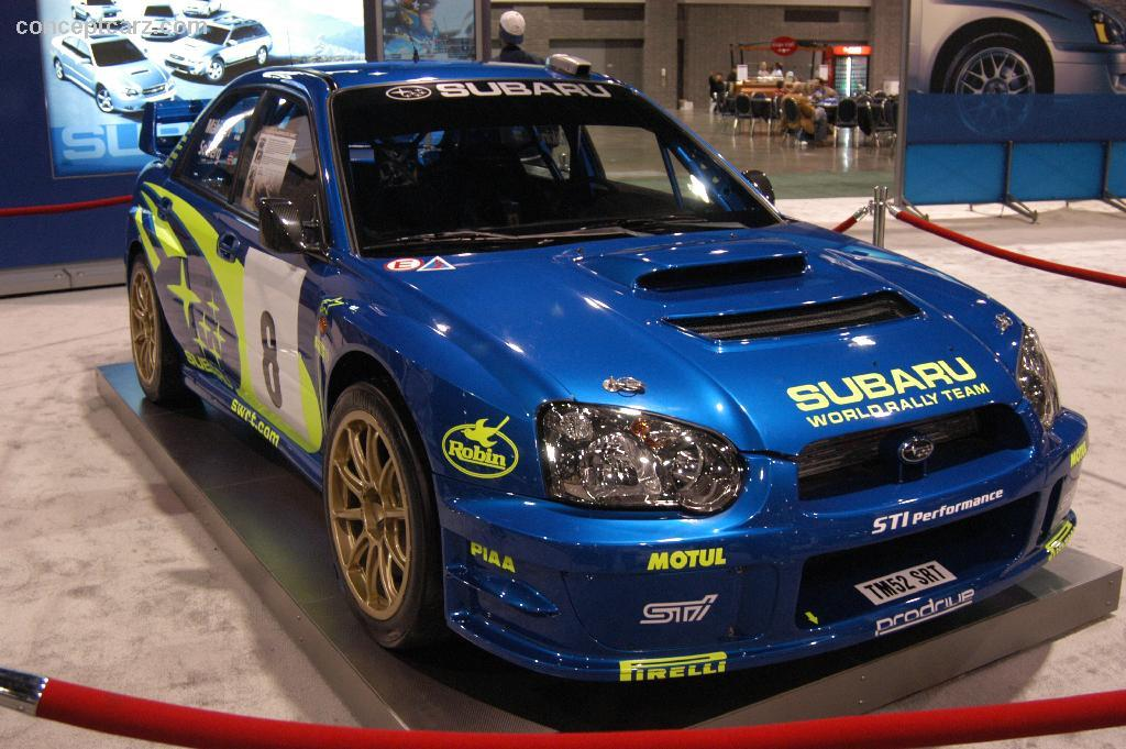 Subaru Impreza Wrx Sti Rally Car Wallpaper 2004 Subaru Impreza Wrc Image Photo 7 Of 14
