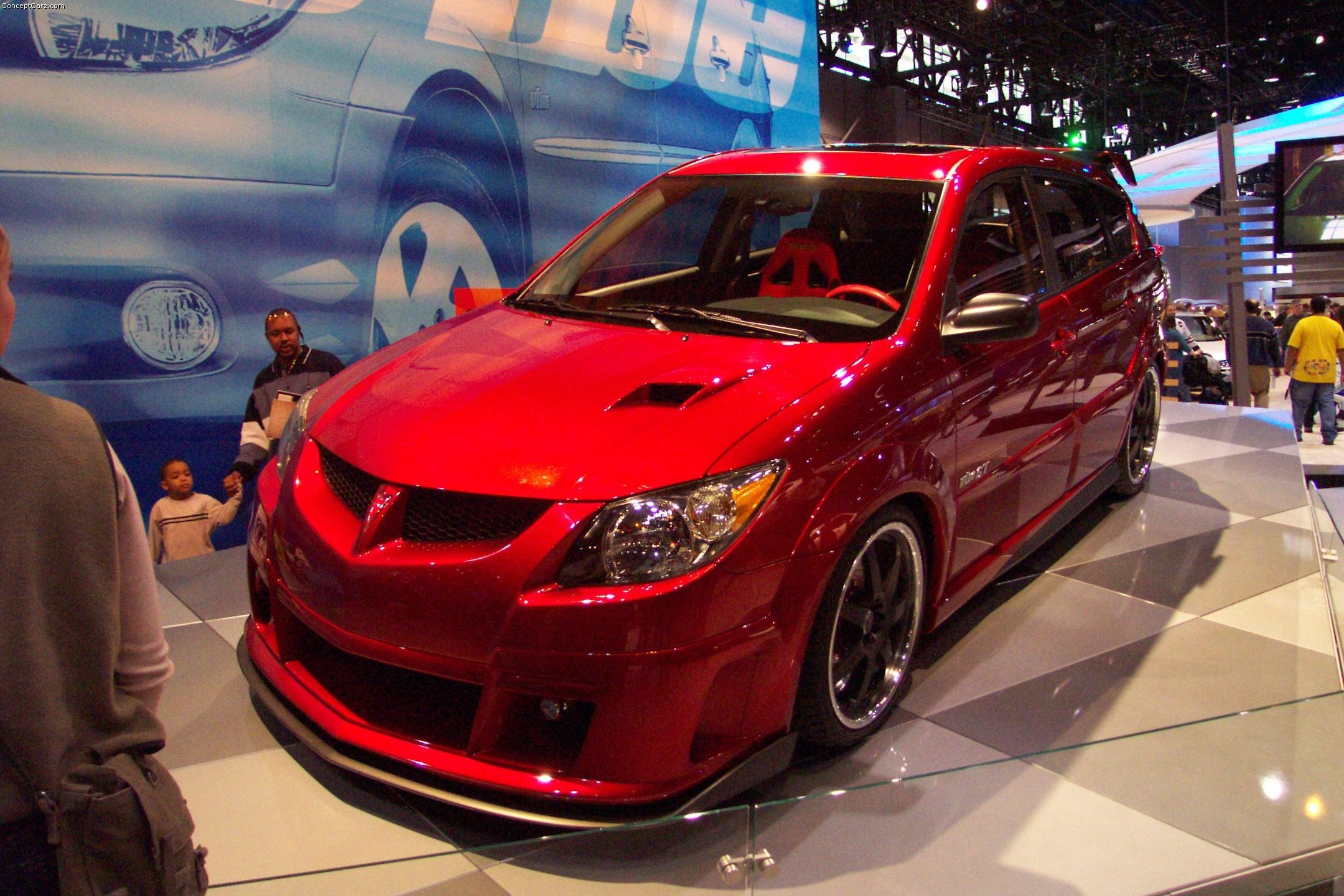 Modified Sports Car Wallpaper 2003 Pontiac Vibe Conceptcarz Com