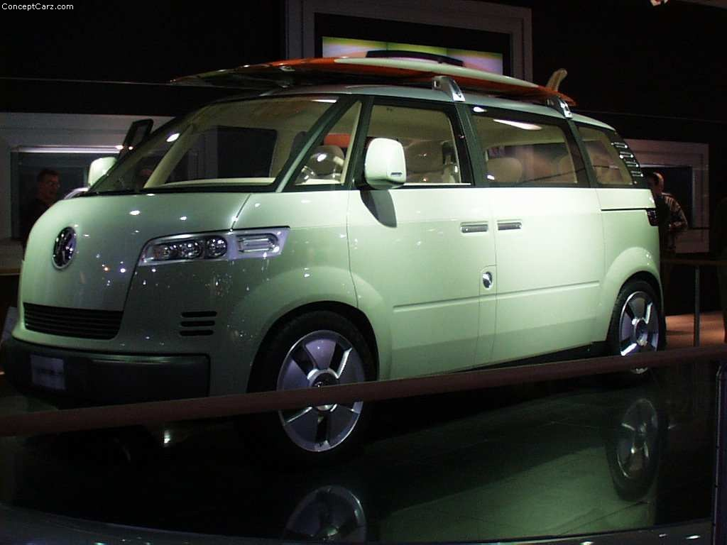 Images For Cars Wallpaper 2001 Volkswagen Microbus Concept Image Photo 15 Of 19
