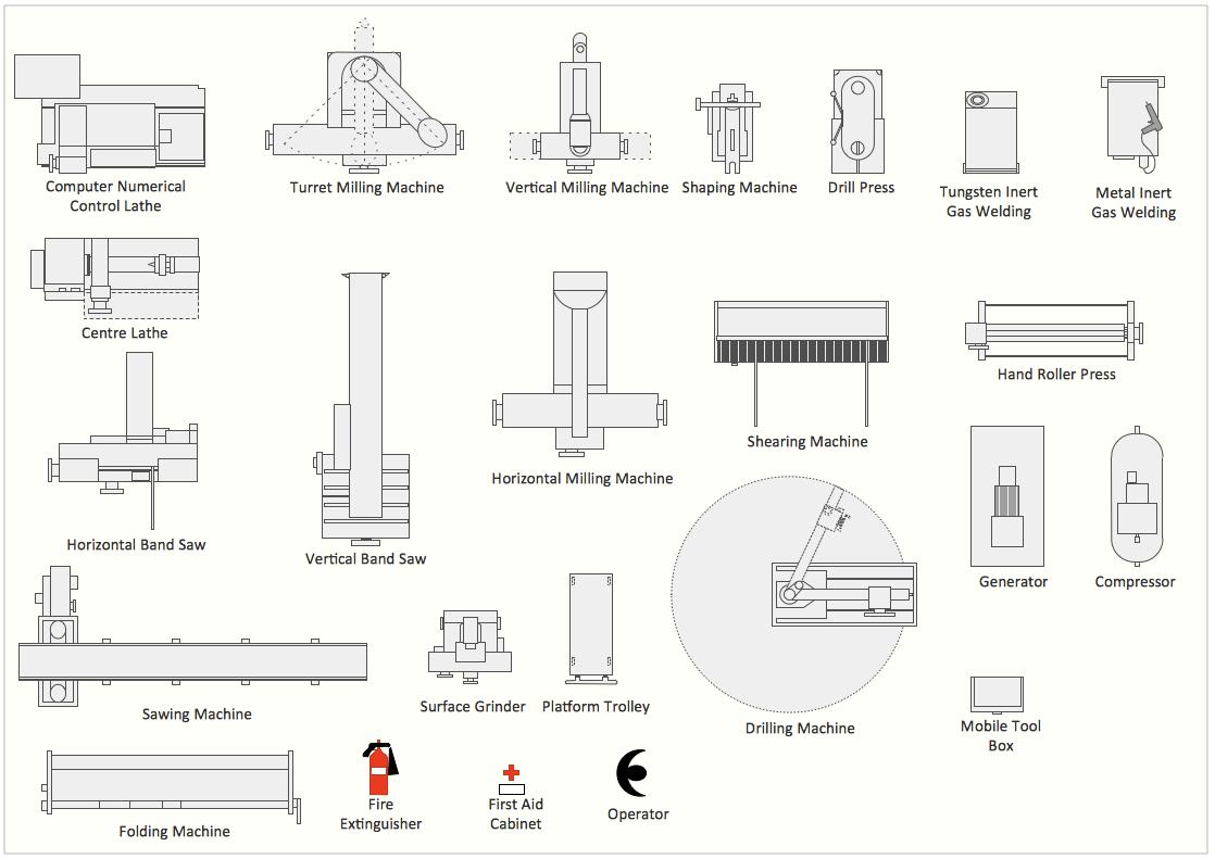 Interior Design Machines And Equipment Design Element