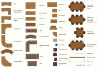 Interior Design. Office Layout Plan Design Element