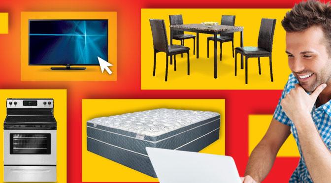 Concours economax gagnez un divan t l viseur laveuse for Economax meuble
