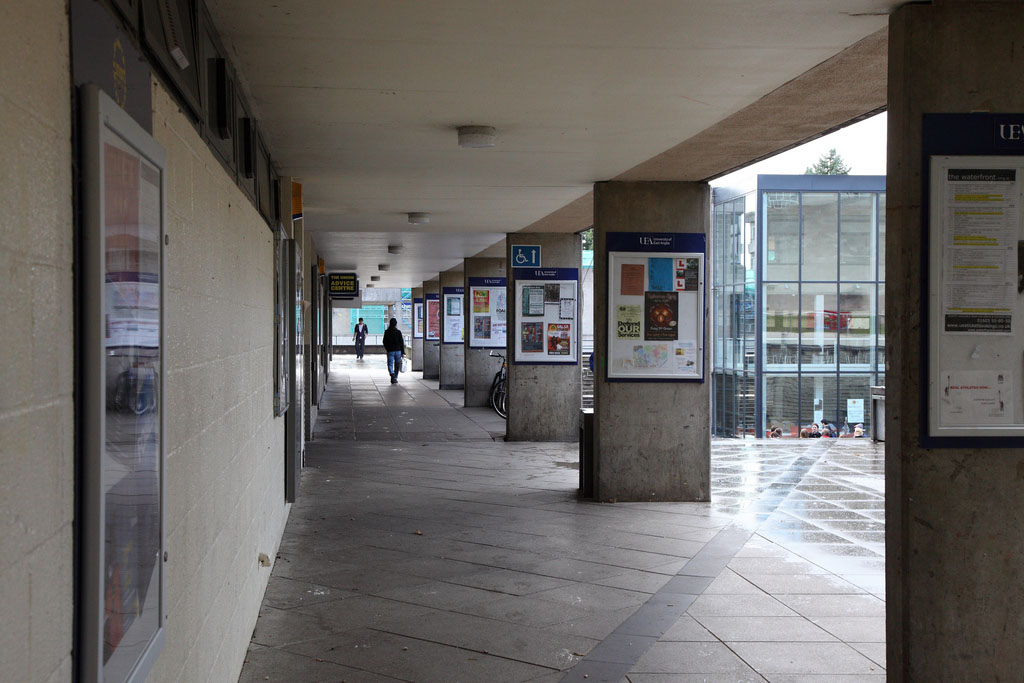 UEA Union House, Photo: Flickr, Gleen Wood