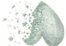 broken-heart, illustrated by Olivia Campbell