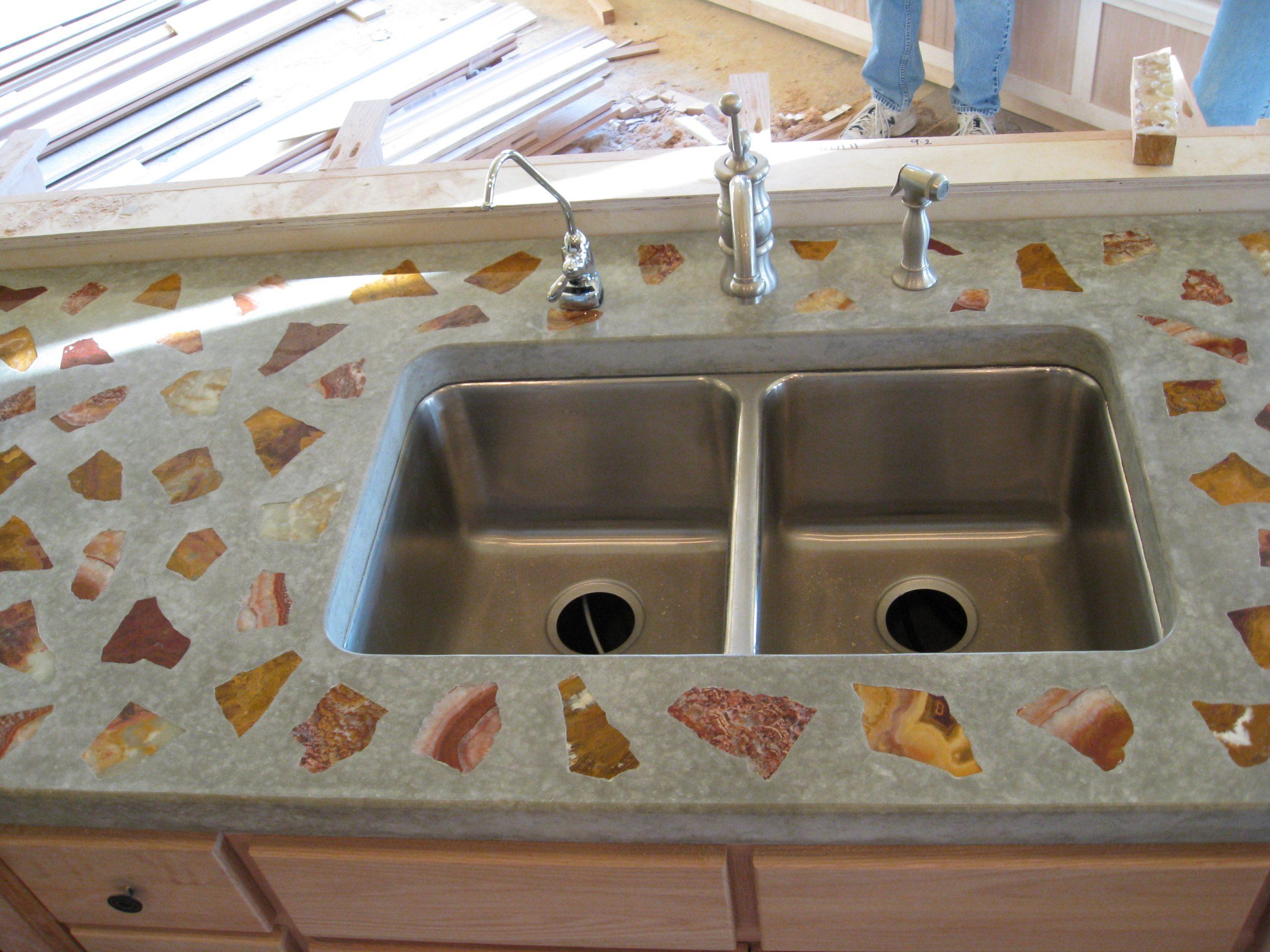 residential custom concrete concrete kitchen countertops residential custom concrete