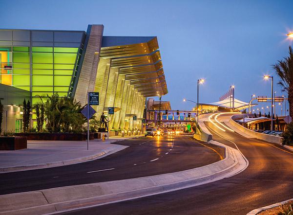 Architectural Concrete At San Diego International Airport