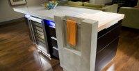 Concrete Kitchen Island   CHENG Concrete Exchange