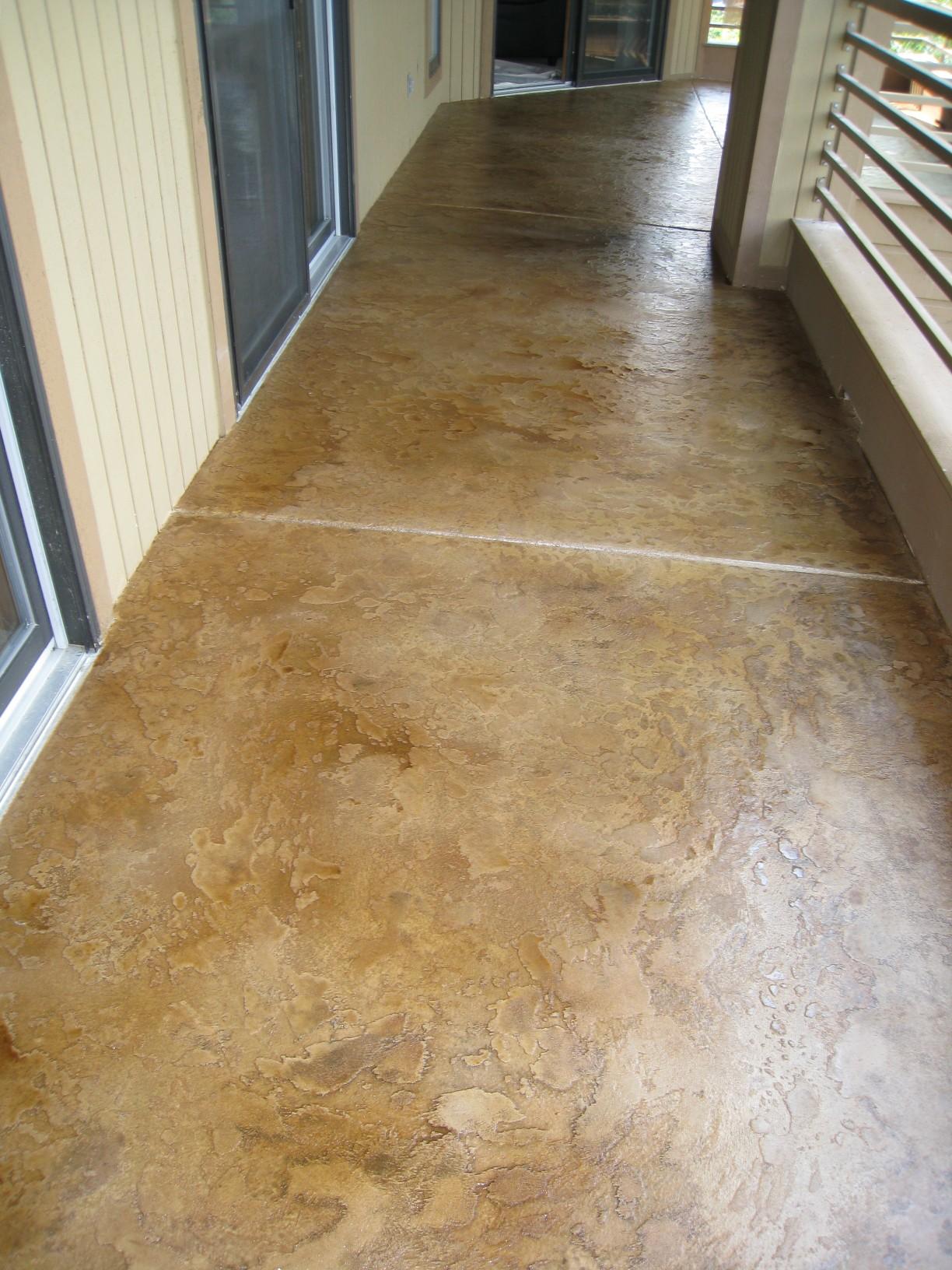 Custom Concrete Flooring : Custom concrete design lake ozark decorative