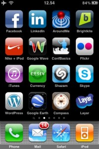 ConfBasics icon on the iPhone