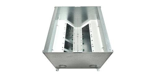 Fsr Fl 600p 10 B Ul Cul Concrete Floor Box 10quot Deep