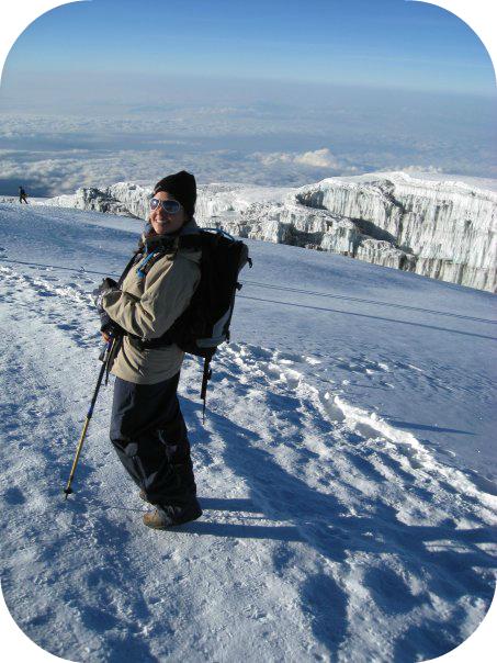 The top of Mt. Kilimanjaro