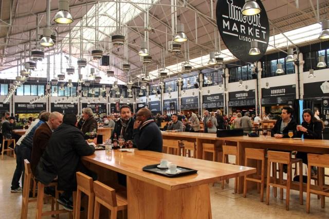 Lisbon Time Out Mercado da Ribeira