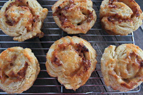 This recipe for Smoked Cheddar and Bacon Biscuit Rollups is a definite crowd pleaser. The perfect recipe for Easter Potluck!