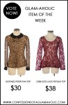 Glam-Aholic Item Of The Week: Vote Now!
