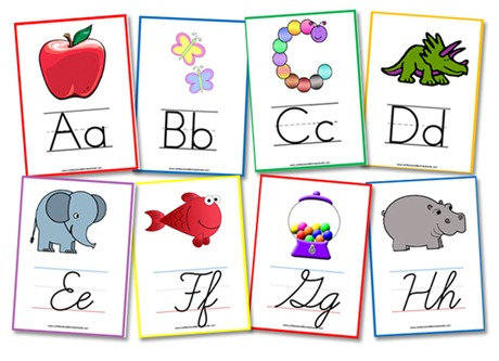 Alphabet Flashcards  Wall Posters - Confessions of a Homeschooler