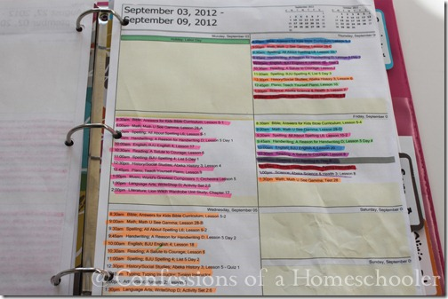 Homeschool Storage and Record Keeping 2013 - Confessions of a