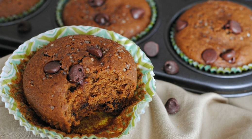 Gingerbread Maple Chocolate Chip Muffins | Confessions of a Midnight Baker