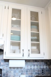 How to Add Glass to Cabinet Doors