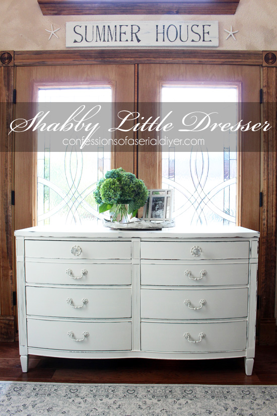 How To Paint Furniture Using Chalk Paint | Confessions Of A Serial