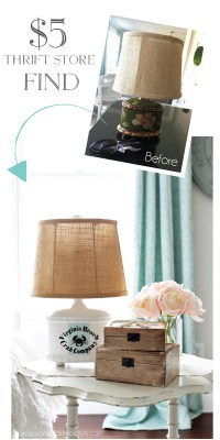 Beach-Inspired Lamp Makeover   Confessions of a Serial Do ...
