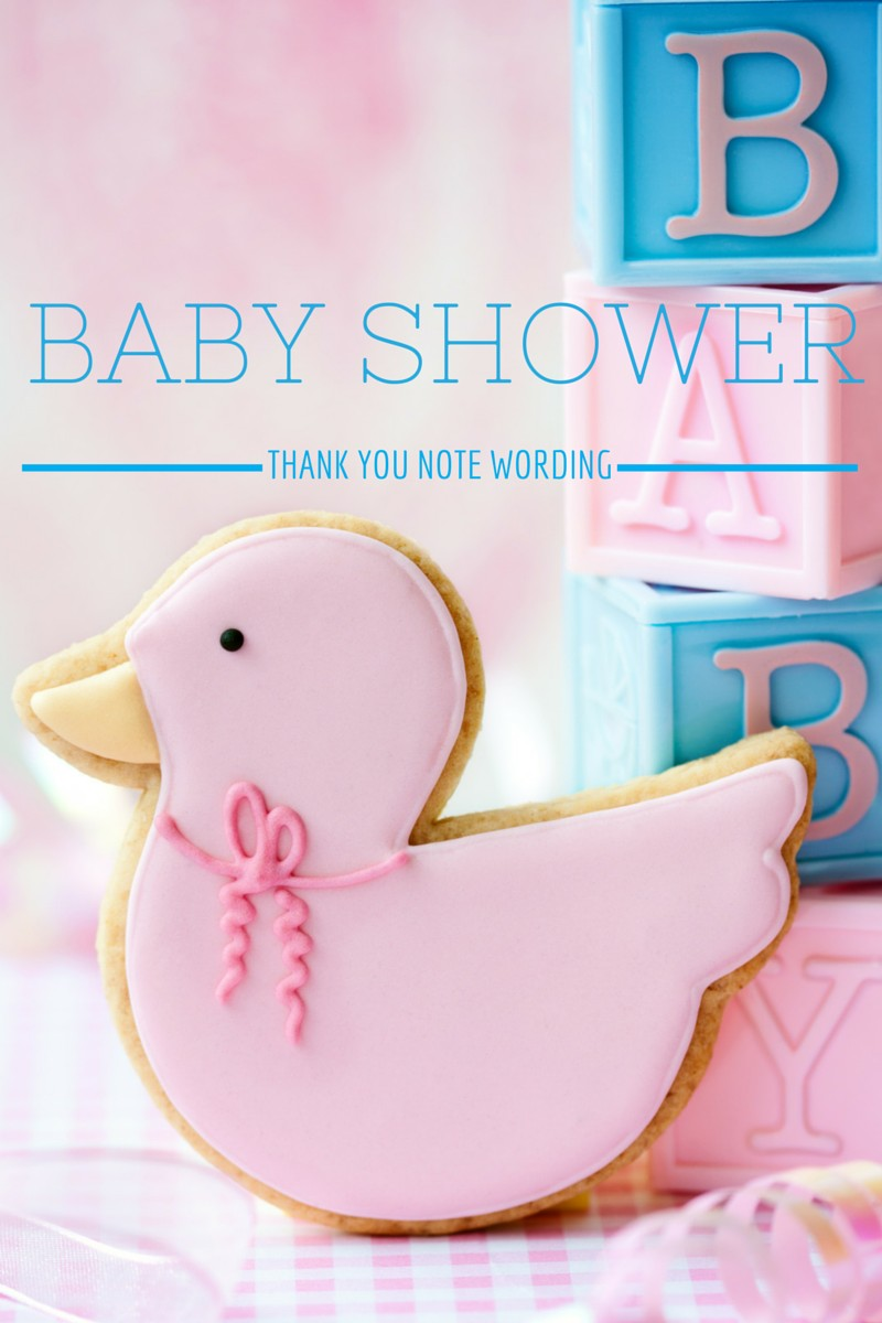 Fullsize Of Baby Shower Thank You Wording