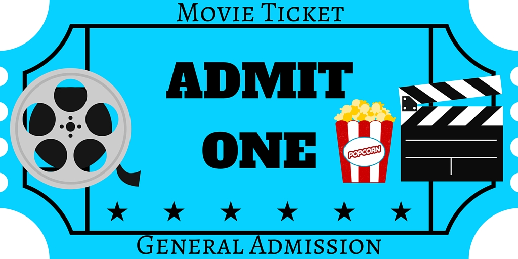 FREE Printables Printable Movie Night Invite - free printable ticket style invitations