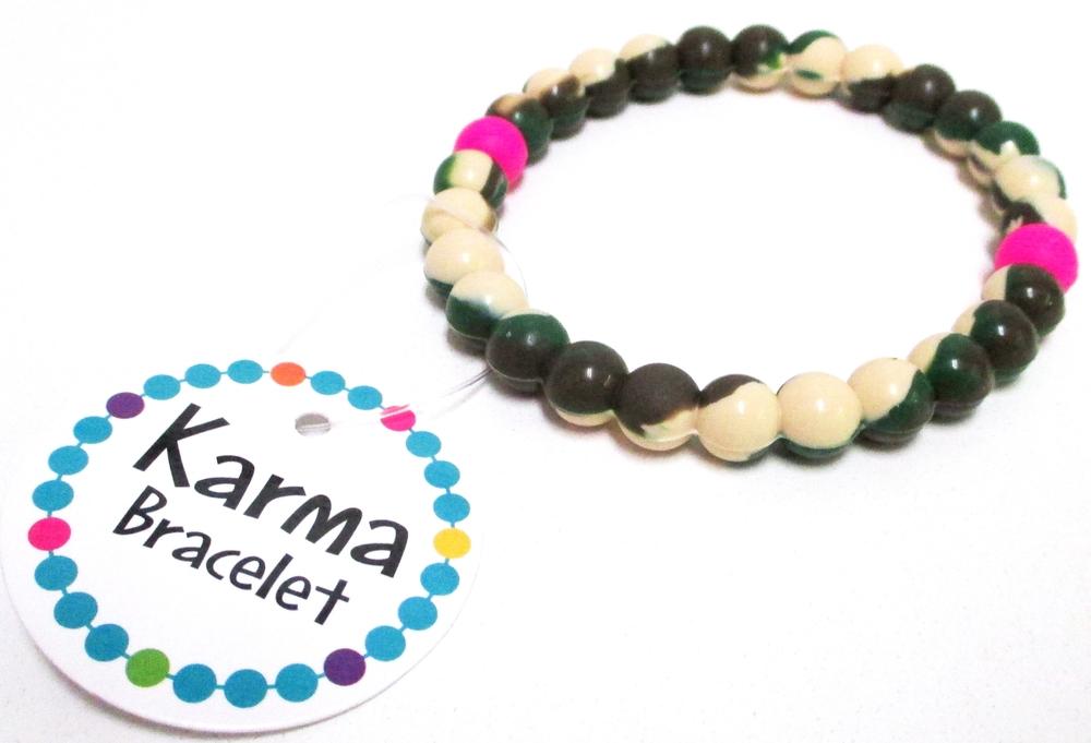 Karma Camo Bracelet Karma Bracelets