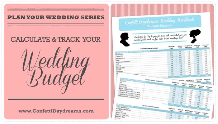 Wedding Budget Workbook FREEBIE {Wedding Planning Series}