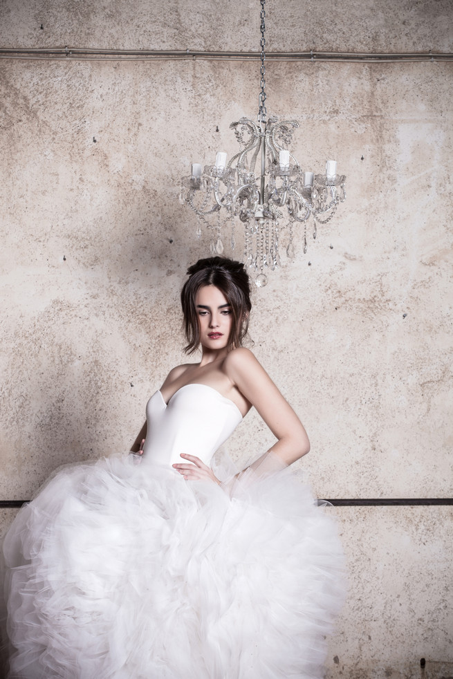 Utterly romantic wedding dresses the 2015 quimera for Short fluffy wedding dresses