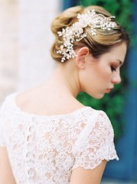25 Most Romantic Vintage-Inspired Bridal Headpieces for 2015