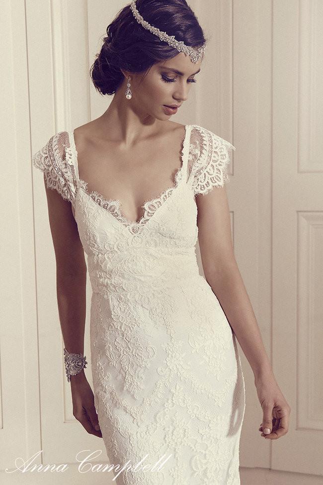 Anna campbell s 2016 gossamer wedding dress collection for Anna campbell wedding dress used