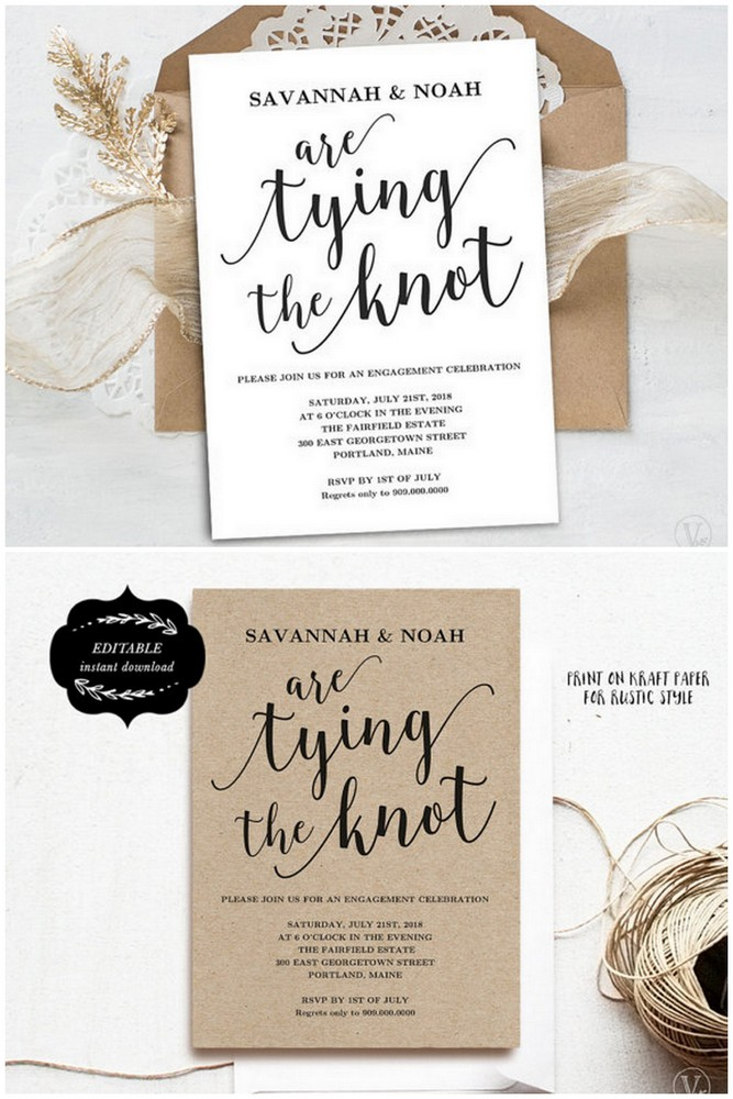 22 Engagement Party Invitations You\u0027ll Want to \u0027Say Yes\u0027 to!
