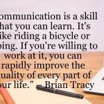 Brain Tracy Communication