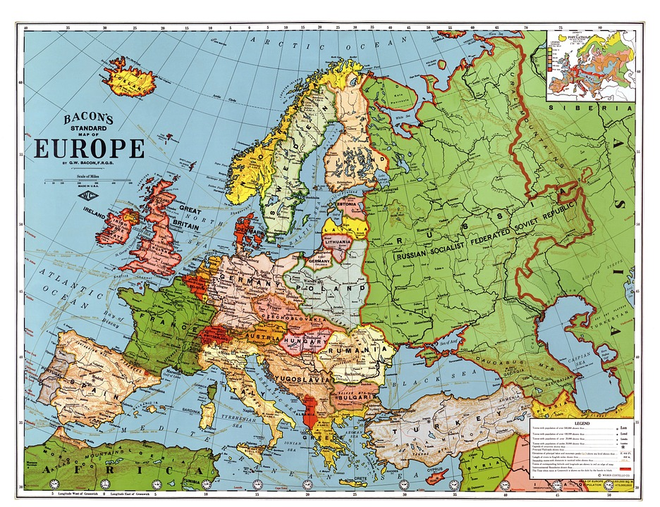 How to pronounce Europe and European American English