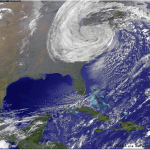 Sandy NASA image