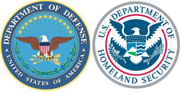 DoD DHS emblems