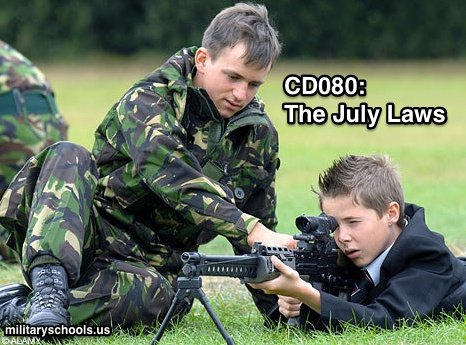 Military equipment for schools