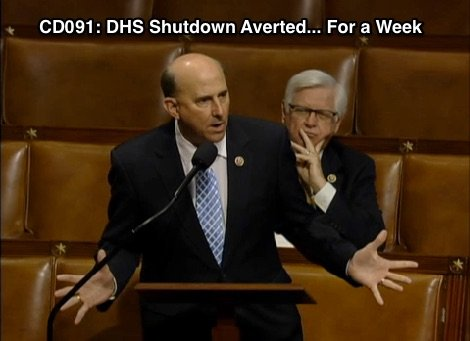 Episode CD091: DHS Shutdown Averted... For a Week