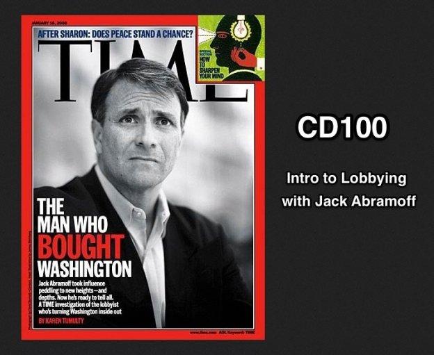 CD100 Jack Abramoff Cover