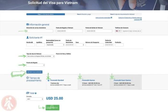 ▷ Visado de Vietnam con carta de invitación paso a paso Actualizado