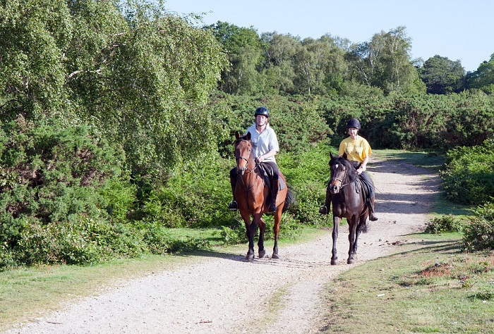 3. horse back riding