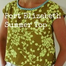 Port Elizabeth Summer Top