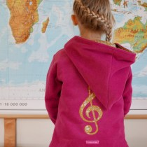 Music Fleece Sweater